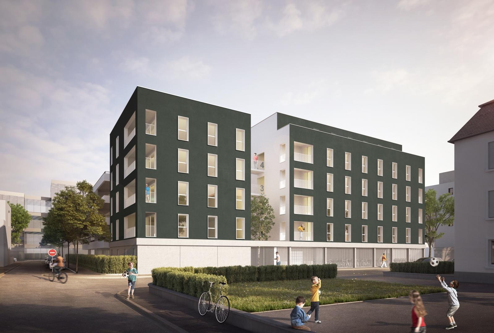 30 Logements Saint-Louis, 2016 | Henner + Roland Architectes